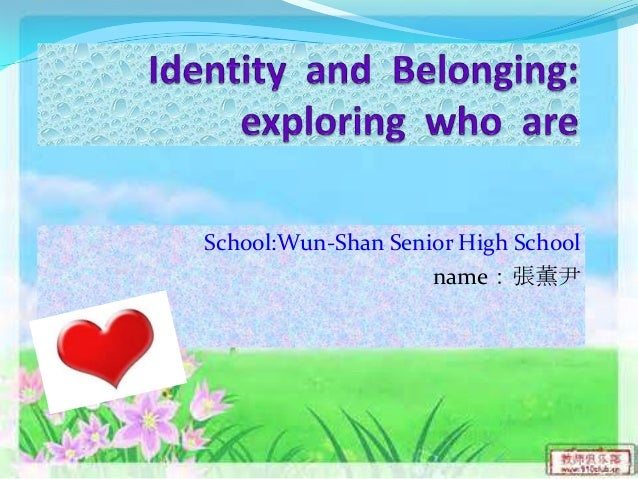 Identity and Belonging Theme