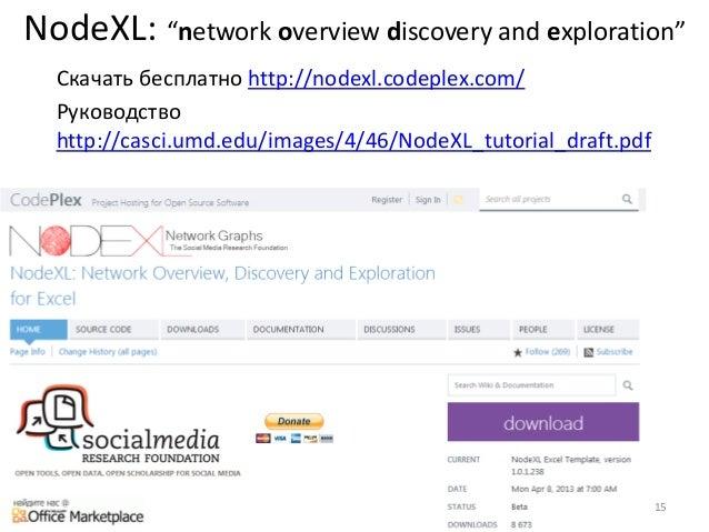 Nodexl руководство пользователя - фото 10