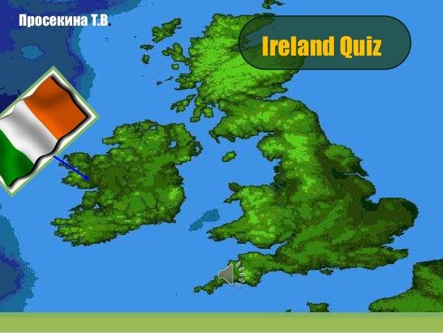 интерактивная   викторина ирландия