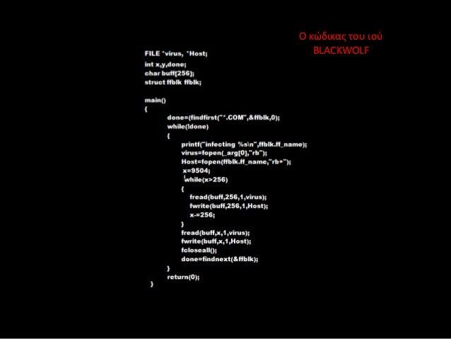 Κώδικας Ιών