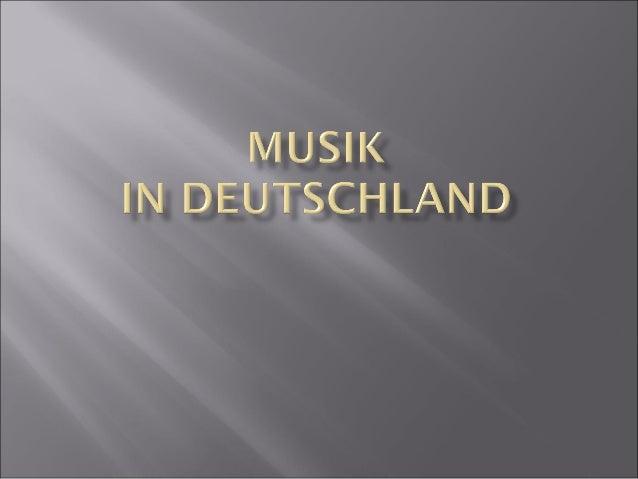 музика Німеччини