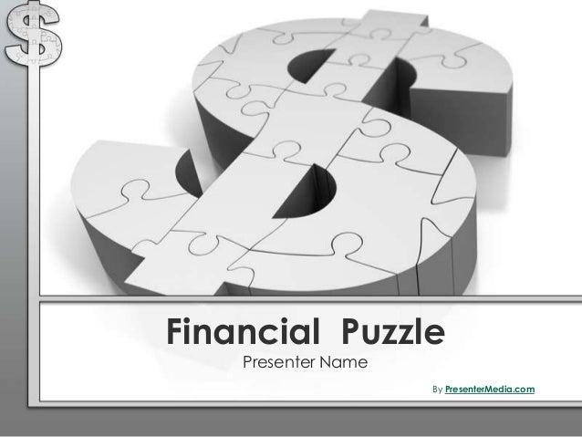Financial Puzzle Presenter Name By PresenterMedia.com