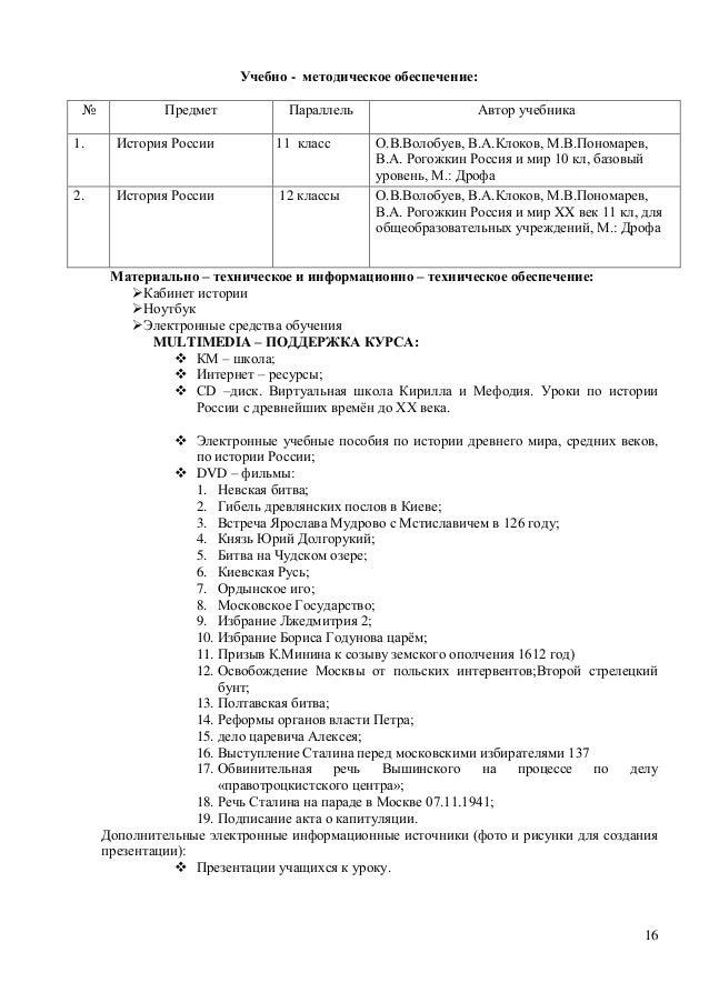 История России 11 класс 2.