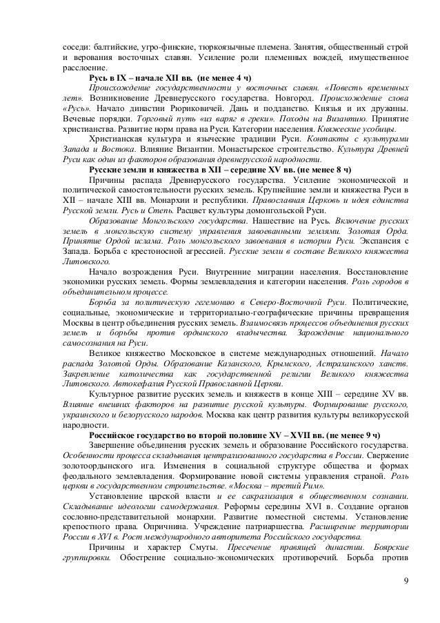 восточных славян.