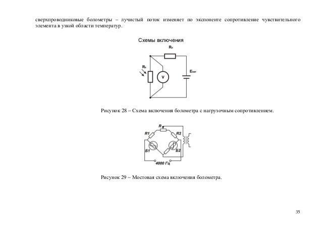 Схемы включения Рисунок 28