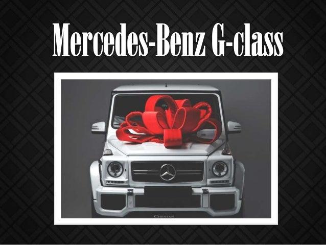 Mersedes Benz G class