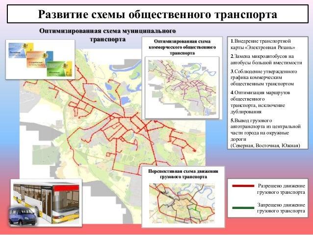 Развитие схемы общественного