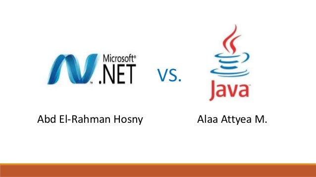 Comparison of net framework vs java virtual machine