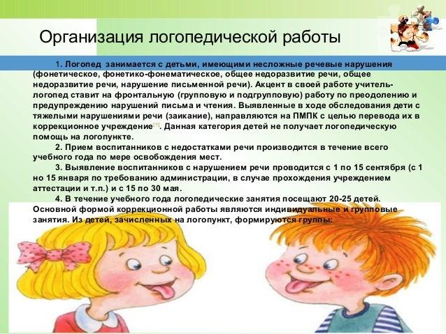 нарушение письменной речи)