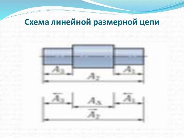 размерной цепи; 5. Схема