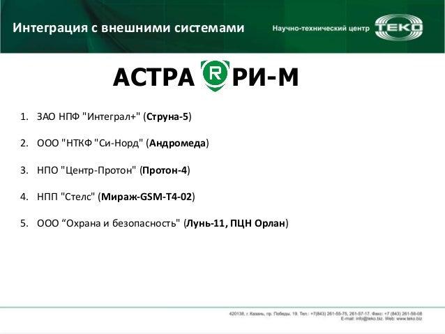 """ЗАО НПФ """"Интеграл+"""" (Струна-5)"""