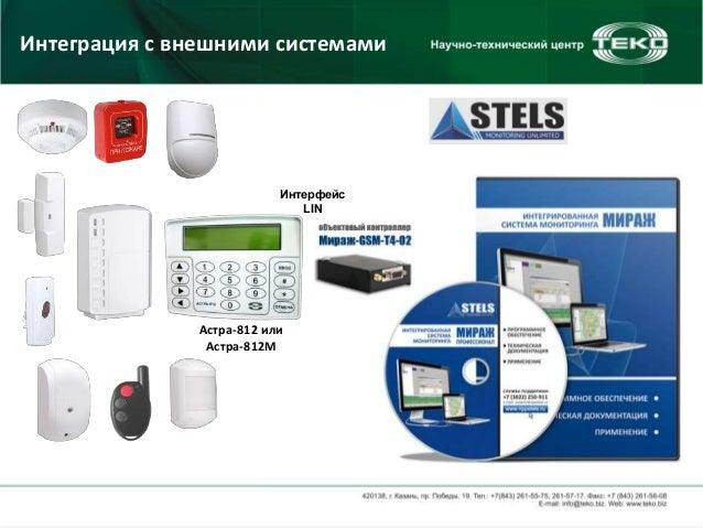 системами Астра-812 или
