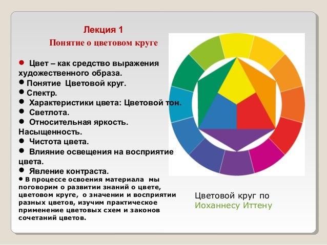 Аналоговую цветовую схему