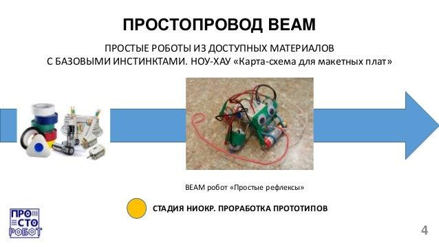 плат» BEAM робот «Простые