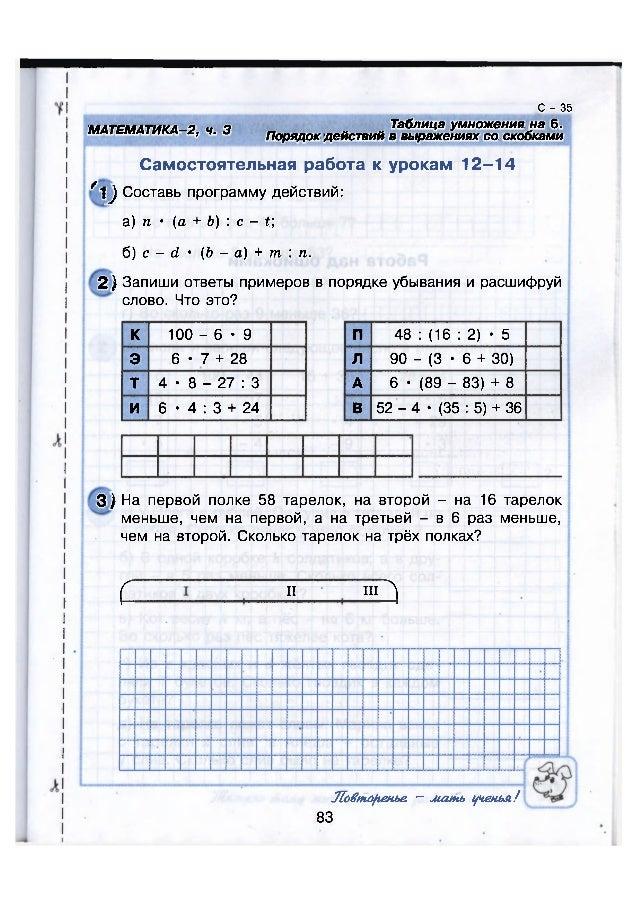 filips-kofe-vilenkin-2011-reshebnik-5-klass-kontrolnie-raboti-3-chetvert