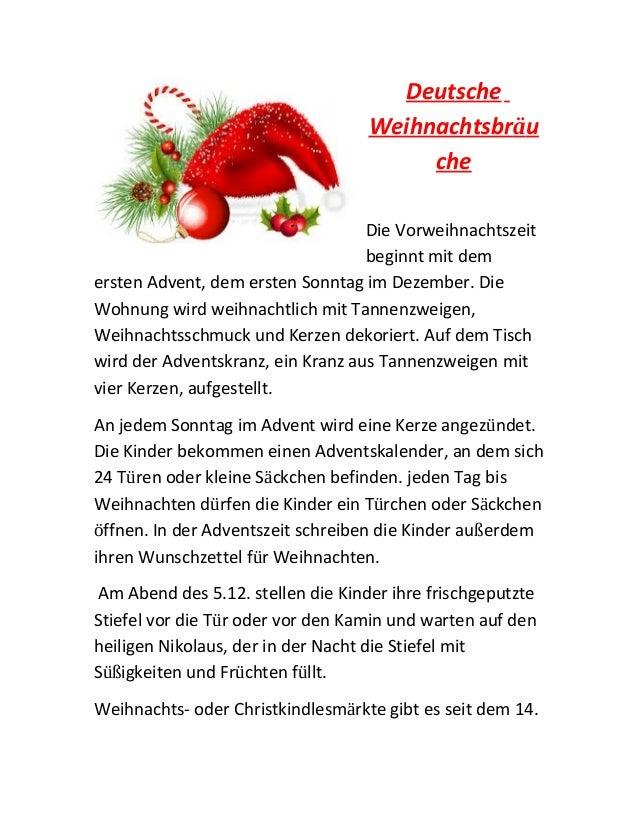 Deutsche Weihnachtsbräu che Die Vorweihnachtszeit beginnt mit dem ersten Advent, dem ersten Sonntag im Dezember. Die Wohnu...