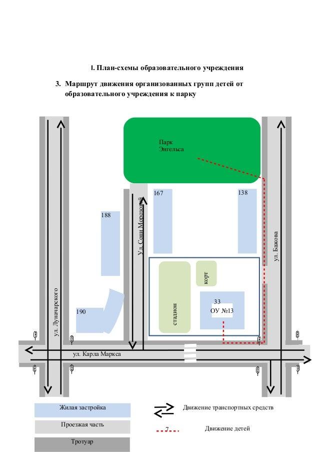 I. План-схемы образовательного