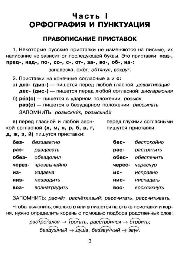 Часть I ОРФОГРАФИЯ И