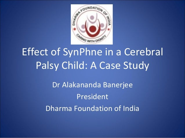 pediatric cerebral palsy case study Cerebral palsy is a common neurologic problem in children and is reported as occurring in approximately 2-25 of 1000 live births globally as is the case with many pediatric neurologic conditions, very little has been reported on this condition in the african context.