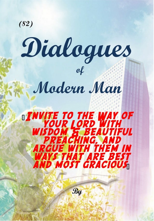 Islam urges to superiority Dialogues-of-modern-man-1-638