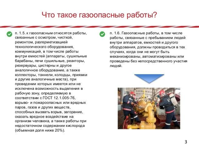 инструкции по проведению газоопасных работ газовой котельной