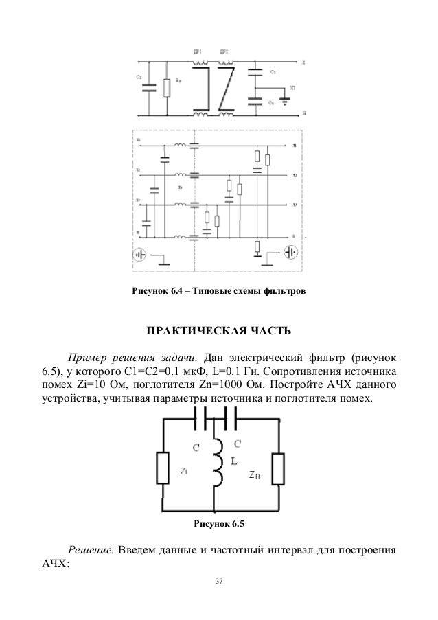 37 Рисунок 6.4 – Типовые схемы