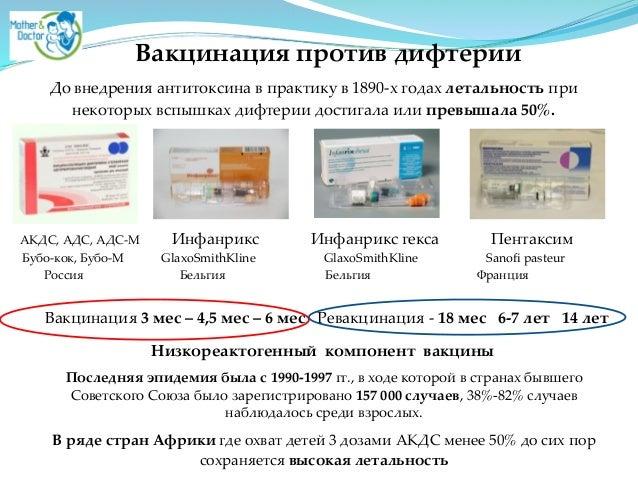 АДС, АДС-М Инфанрикс