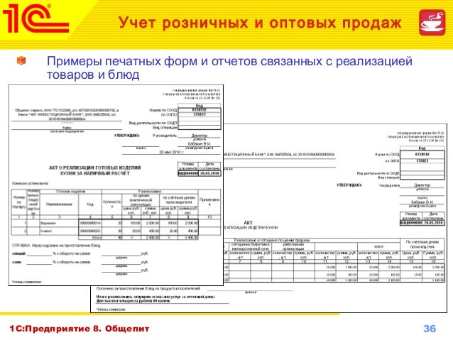 акт о реализации и отпуске изделий кухни образец заполнения - фото 9