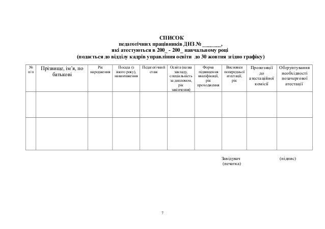 відомості про вихованця бланк днз img-1