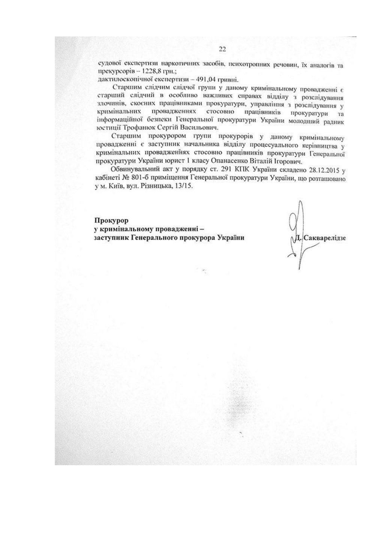 """Сакварелидзе должен объяснить неявку стороны обвинения в суд по делу """"бриллиантовых прокуроров"""", - представитель ГПУ Куценко - Цензор.НЕТ 6190"""
