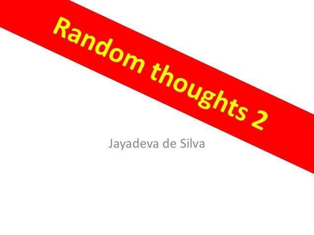 Jayadeva de Silva
