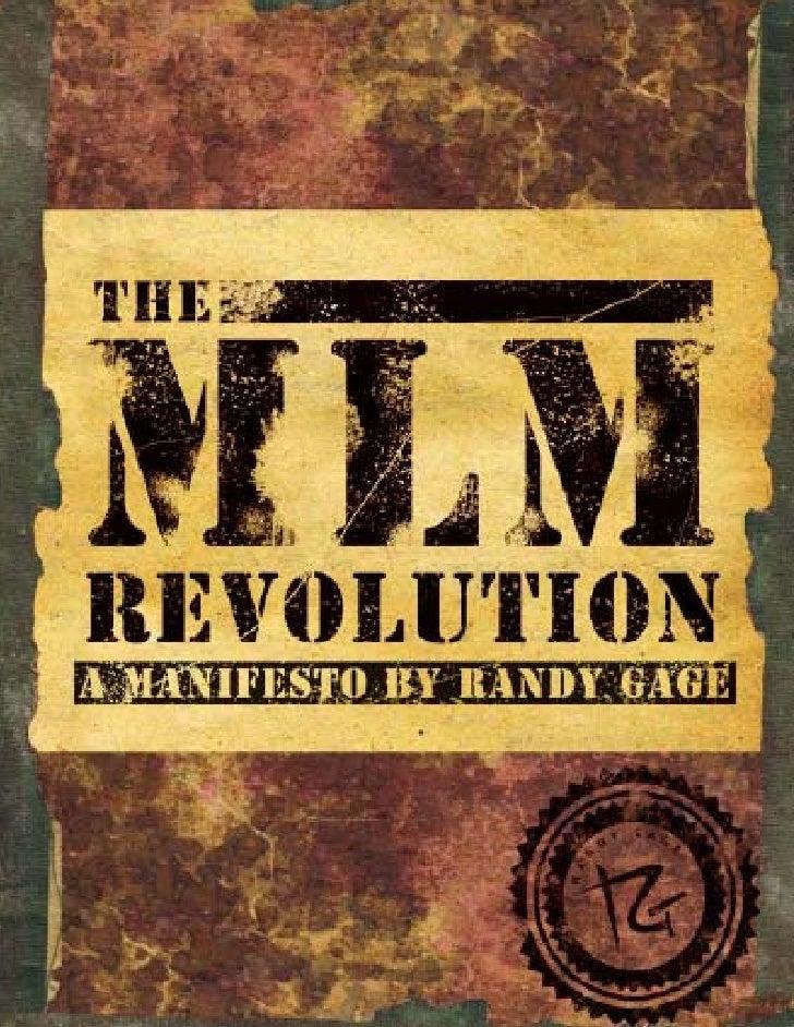 Randy Gage - MLM forradalom