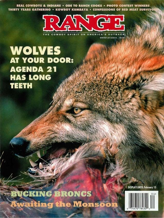 Range Magazine:  Knowledge and Courage
