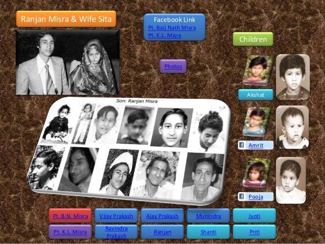 Ranjan Misra & Wife Sita                   Facebook Link                                         Pt. Baij Nath Misra      ...