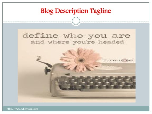 Blog Description Tagline http://www.cybernaira.com