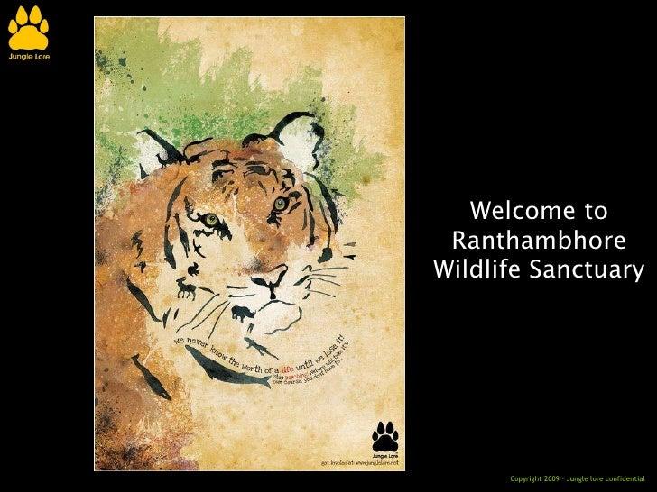 Welcome to Ranthambhore Wildlife Sanctuary