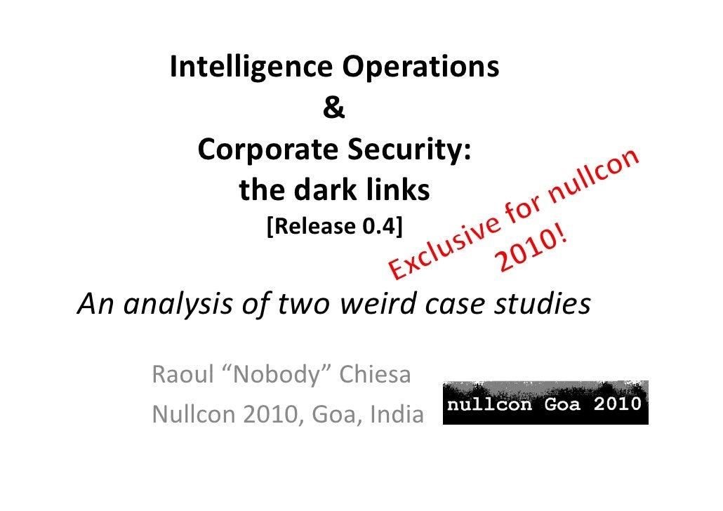IntelligenceOperations              g       p                   &         CorporateSecurity:         C        t S    ...