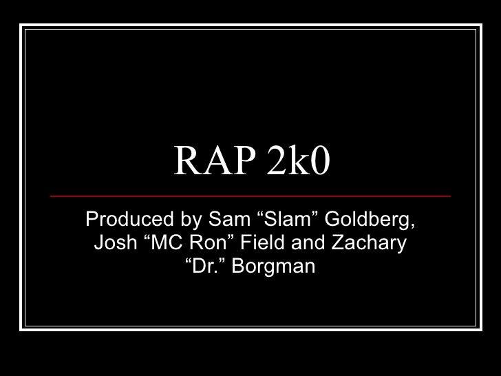 Rap 2k0