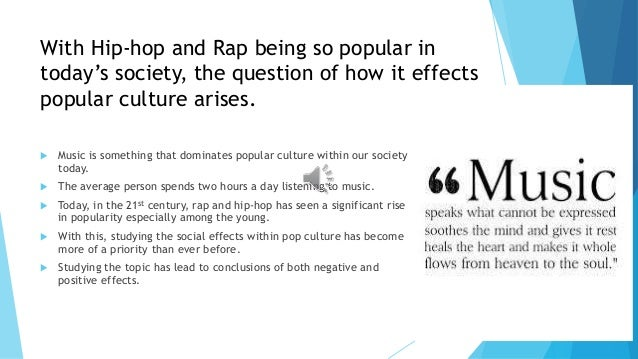 The Influence of Rap and Hip-Hop Music: An Analysis on Audience Perceptions of Misogynistic Lyrics