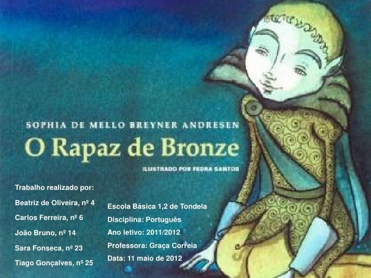 Trabalho realizado por:Beatriz de Oliveira, nº 4   Escola Básica 1,2 de TondelaCarlos Ferreira, nº 6       Disciplina: Por...