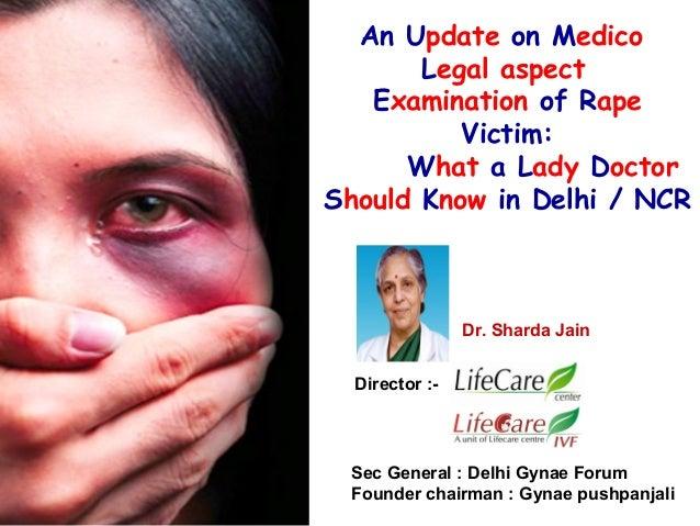 Rape victim examination 19th dec