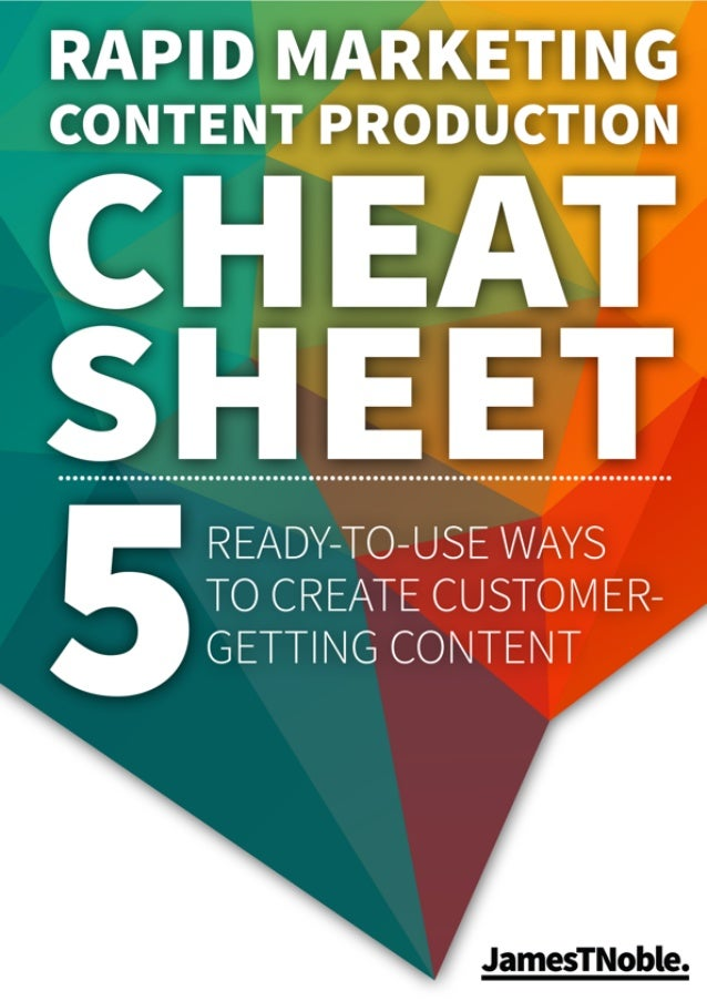 5 Ways to Create Customer-Getting Content