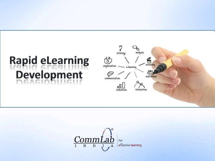 Rapid eLearning Development