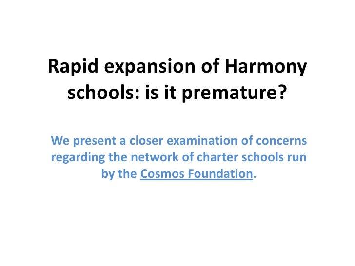 Rapid expansion of Cosmos Foundation schools