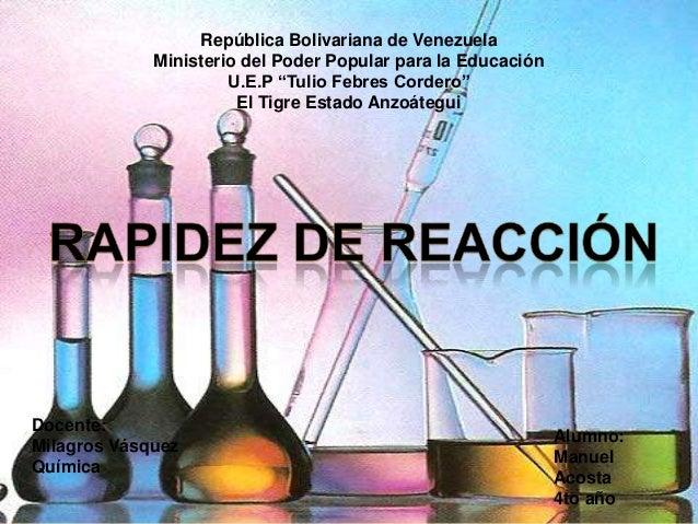 """República Bolivariana de Venezuela             Ministerio del Poder Popular para la Educación                      U.E.P """"..."""