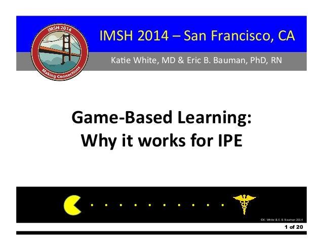IMSH  2014  –  San  Francisco,  CA...