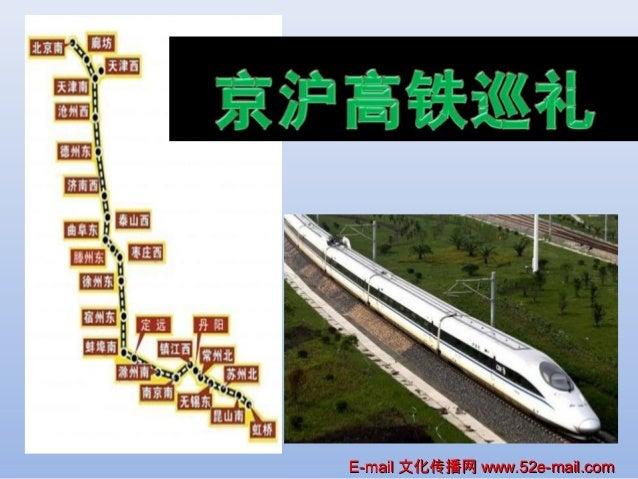 The Beijing–Shanghai High-Speed Railway