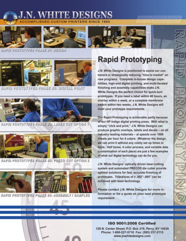 Rapid Prototyping  -Reducing Time-to-Market on New Products