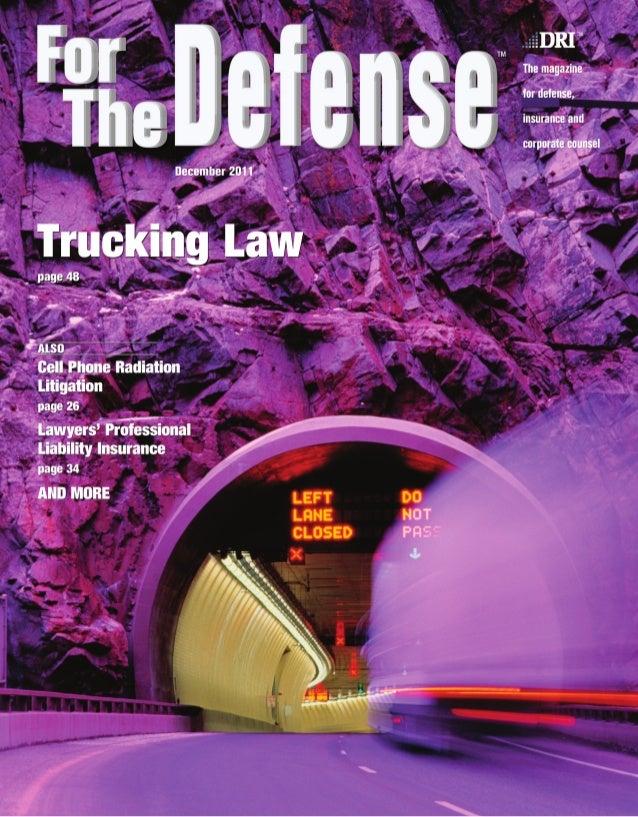 Trucking L awRapid Response Teams                                                Investigation                            ...