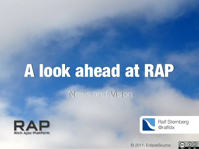 A look ahead at RAP - News and Vision
